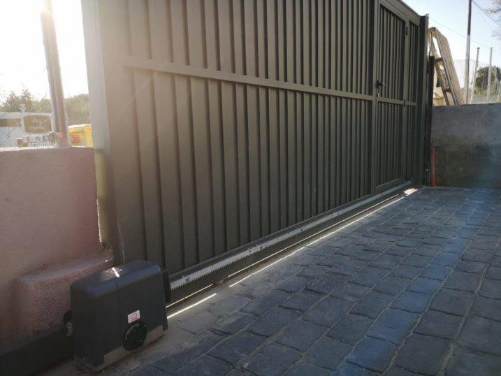 puertas automáticas en villalba